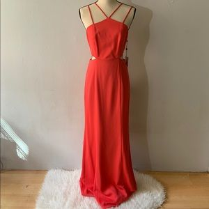 NWT - Hibiscus Coral Dress Gown